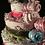 Thumbnail: 4 Tier Pink & Teal DIAPER CAKE
