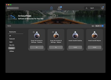 Jamf 1-click reinstal macOS