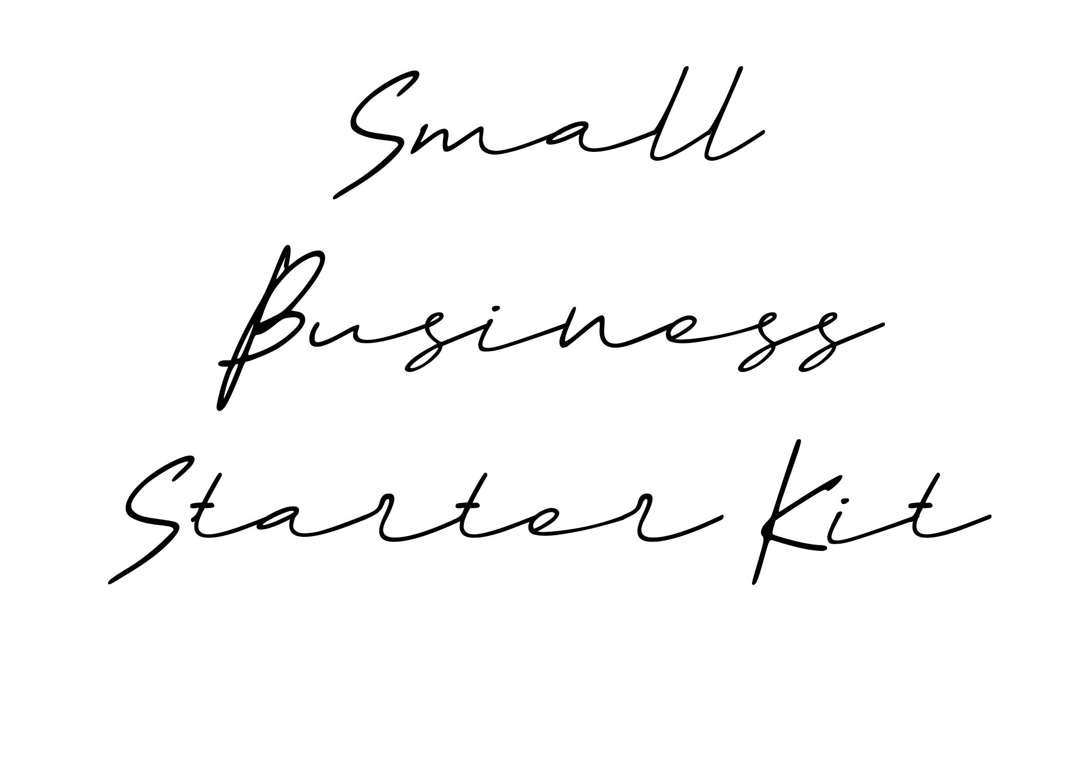 Small Business Starter Kit