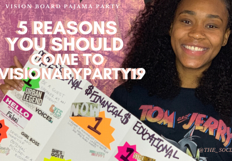 5 Reasons you should go to the Vision Board Pajama Party