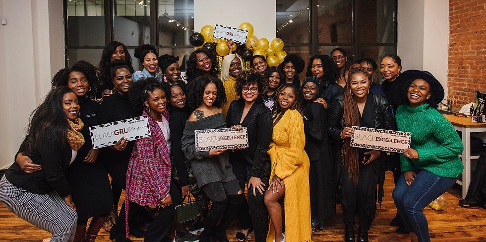 Social Tea NYC - Black Woman - Black His