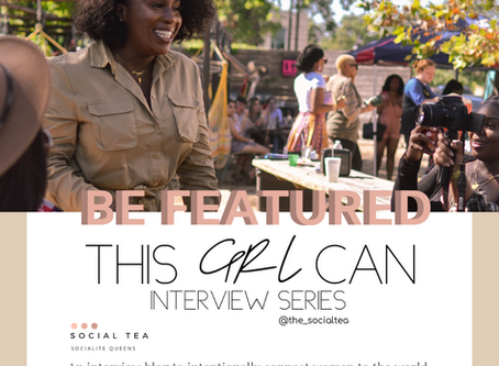 "Welcome to ""This GRL can"" interview Series"