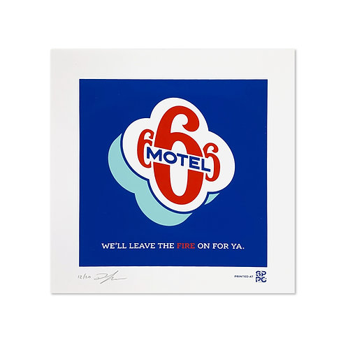 Motel 666 Print