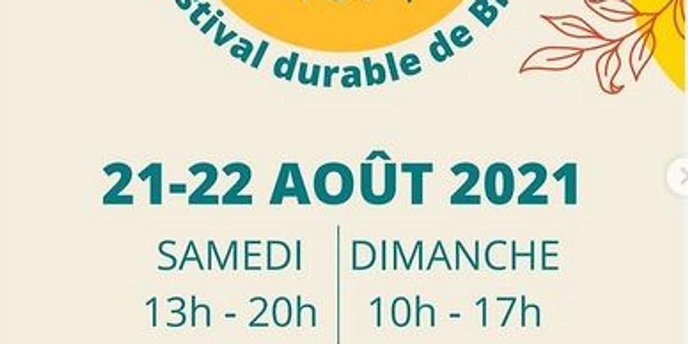 Festival biu en vert avec Atelier ESPACE DE DECOUVERTE et produits de jeux de mouvement
