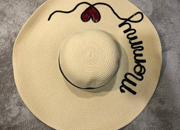 JASMINE BEACH HAT - MUMMY