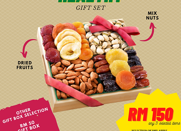 Healthy Gift Set (Dried Fruit & Mix Nut)