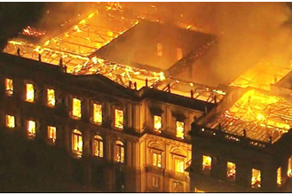 Nós da ANI estamos consternados diante da catástrofe que transformou em cinzas o Museu Nacional