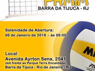 TORNEIO DE VERÃO - ANI DE VÔLEI DE PRAIA - BARRA DA TIJUCA - RJ