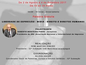 ANI e OAB Madureira/Jacarepaguá realizam a III Mostra de Fotografias sobre Direitos Humanos