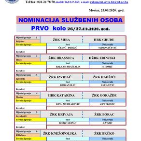 Nominacija službenih lica PL BiH za žene