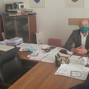 Održan sastanak sa ministrom kulture i sporta KS Kenanom Alikadićem