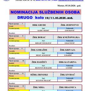 Nominacija službenik osoba PL BiH za žene 2. Kolo