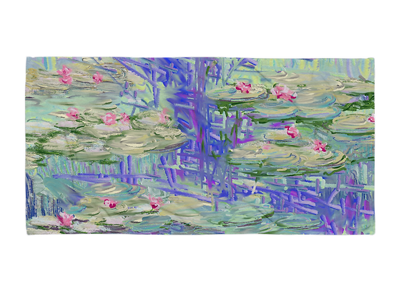 """""""Water Lily"""" 00.7 Towel"""