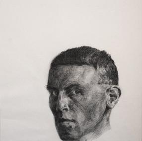 charcoal, pierre noire / 80x45cm / 2012