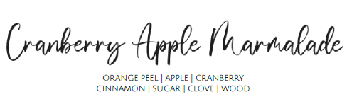 Cranberry Apple Marmalade - 9oz Candle
