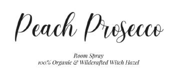 Peach Prosecco Room Spray