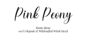 Pink Peony Room Spray