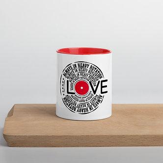 Heavy Rotation Mug with Color Inside