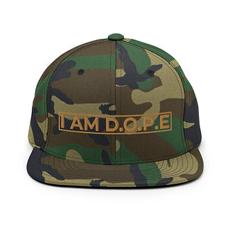I AM D.O.P.E Snapback Hat