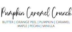Pumpkin Caramel Crunch - 9oz Candle
