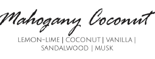 Mahogany Coconut