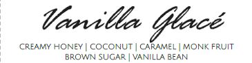 Vanilla Glacé