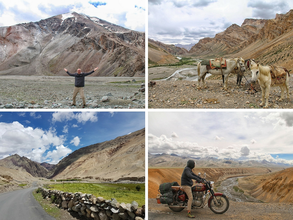 manali to leh motorbike himalayas mountains india