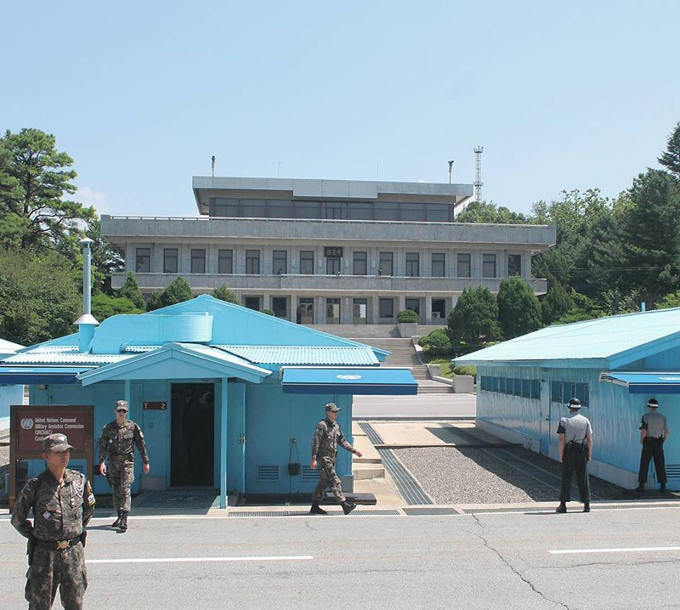 The Panmunjeom Joint Security Area (JSA)