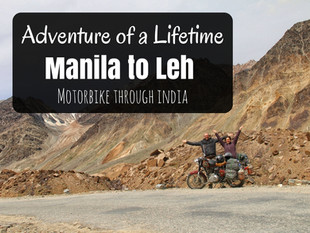 Motorbike Through the Himalayas: Manali to Leh