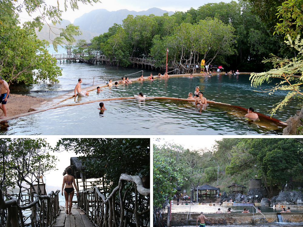 maquinit springs, coron, palawan, philippines