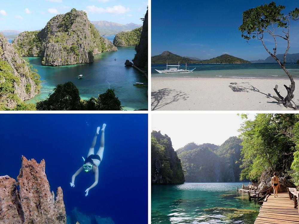 Coron Palawan Philipines what to do in palawan four dirty feet blog