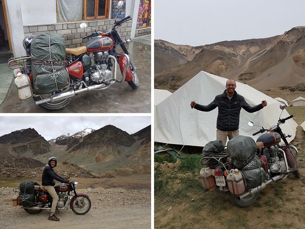 hire motorbike manali india