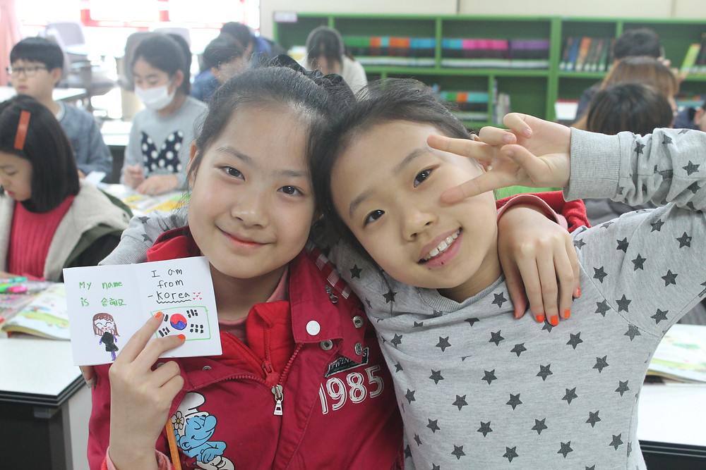 Teaching English in South Korea Elementary Students