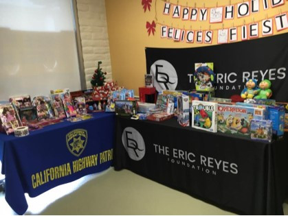 Christmas Giveaway with Highway Patrol