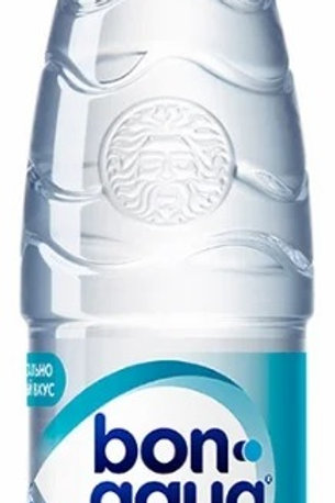 Вода питьевая Bon Aqua негазированная 0,5 л. ПЭТ