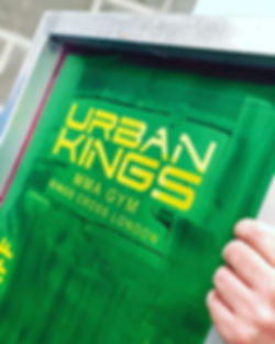 _urbankingsgym always back on the press! _#ink #print #screenprinting #embroidery_#customgarments #r