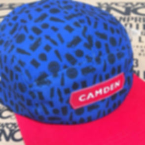 Full bespoke headwear for Camden Town Brewery 👍🏽 #ink #print #screenprinting #embroidery #customga