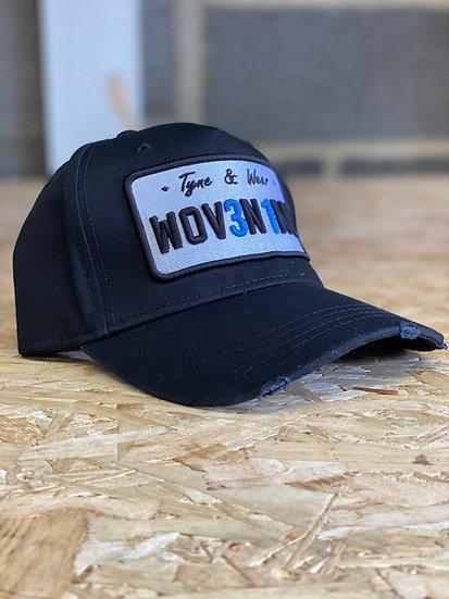 Black Plate Cap: Woven Inc Edition