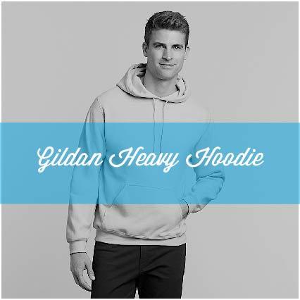 HEAVY GILDAN HOODIE