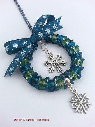 Christmas Decoration - Green Snowflake