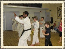 Teaching Self defense