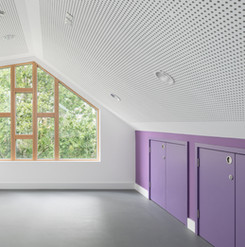 Highbury-Roundhouse Youth Club Window View