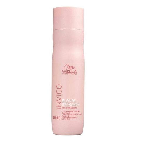 Wella Professionals Cool Blond Recharge Invigo - Shampoo - 250ml