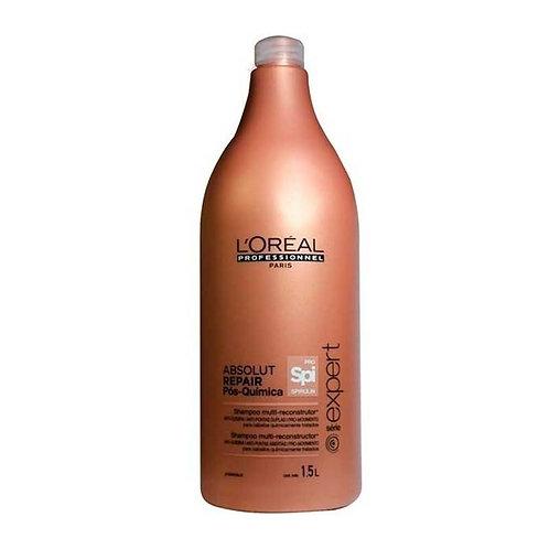 L'Oréal Absolut Repair Pós-Química - Shampoo Multi-Reconstrutor - 1500ml