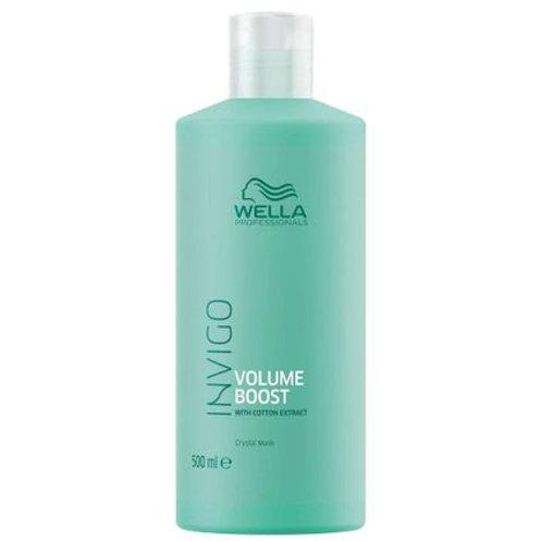 Wella Professionals Volume Boost Crystal Mask - Máscara Capilar - 500 ml