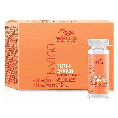 Caixa Wella Professionals Invigo Nutri-Enrich - Sérum Reparador - 8x10ml