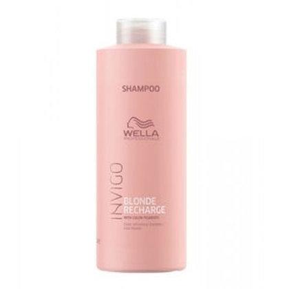 Wella Professionals Cool Blond Recharge Invigo - Shampoo - 1000 ml