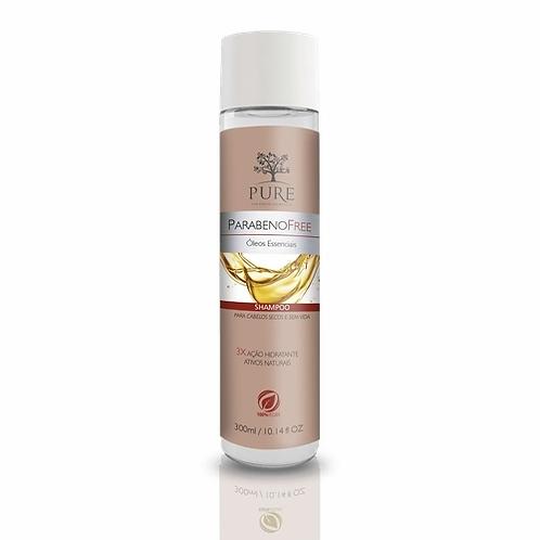 Pure Orgânico Óleos Essenciais Shampoo 300ml - Organica