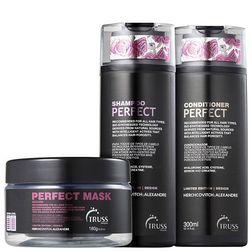 Kit Perfect Truss - Shampoo, Condicionador e Máscara