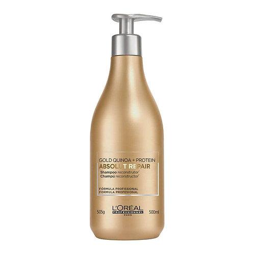L'Oréal Professionnel Absolut Repair Gold Quinoa + Protein - Shampoo - 500ml